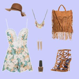 Outfit Short-Overall-Chick von Anneke Geist