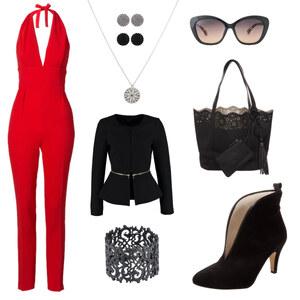 Outfit Sexy-Red-Chick von Anneke Geist