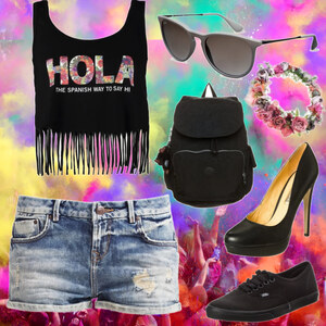 Outfit Festival-look von Alicia Kath