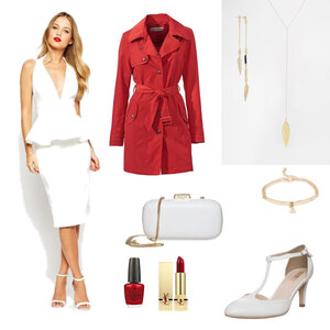 Outfit Dream in red von Anneke Geist
