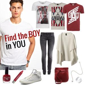 Outfit Find the Boy in You von Annik
