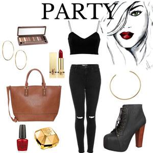 Outfit party lässig chick von Fabienne