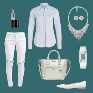 Outfit White Dream von Anneke Geist