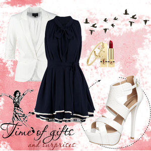 Outfit blue dress von ellenmllr