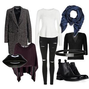 Outfit Lulu Guiness / Kenzo / Boss / Lala Berlin von Stylist Secrets