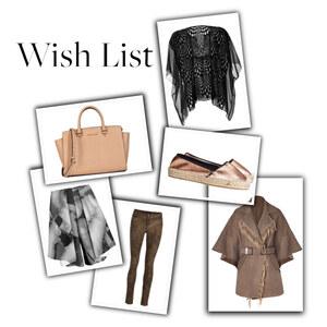 Outfit WISHLIST von Nina193