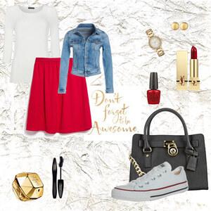 Outfit RED von Miry