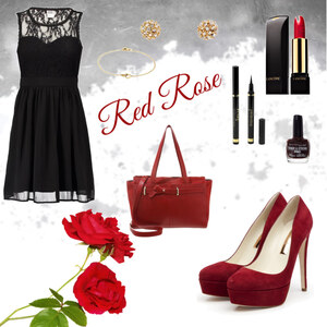 Outfit Red Rose von Miry