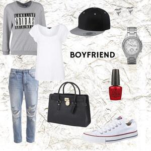 Outfit Boyfriend-Style von Miry