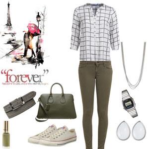 Outfit Khaki Days von s.koerding