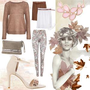 Outfit Autumn Leaves von Lesara