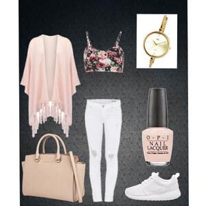 Outfit Ganz in Rosé von Jes