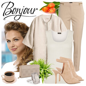 Outfit Bonjour Mademoiselle von patricia