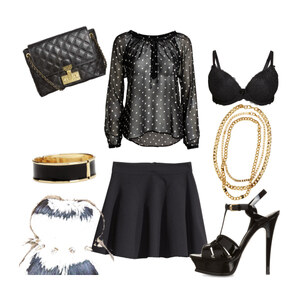 Outfit party time von Annika Emma Arnold