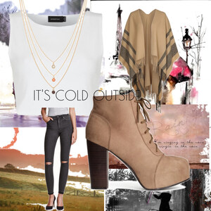 Outfit IT'S COLD OUTSIDE von Soraya Loch