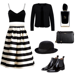 Outfit Blck stripes hello von BB Foxy
