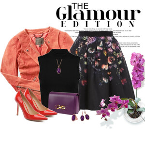 Outfit Glamour von Ania Sz