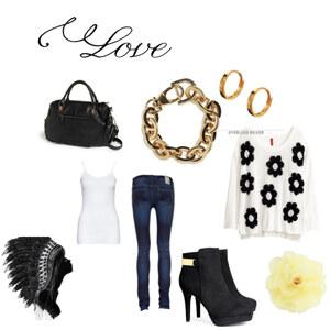 Outfit Altag Love von Melinda Au