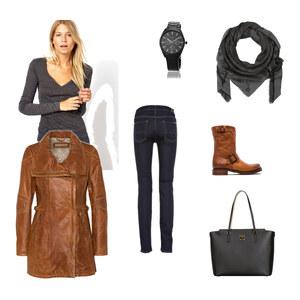 Outfit Beige-Grau Herbst von Jessi