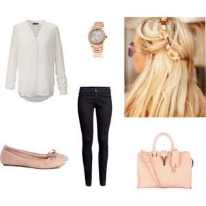 Outfit Rose-Weiss Sommer von Jessi