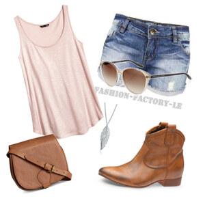 Outfit für den schönen sommer tag  von Jeanine