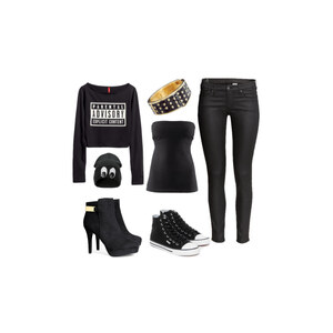 Outfit Black beauty von Virginia Smile