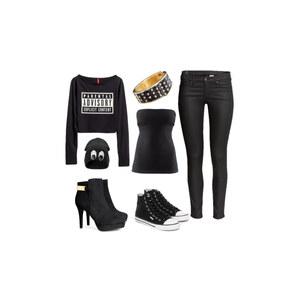 Outfit Black beauty von Virginia Smile