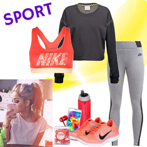 Outfit Let's do some sport von Natalie