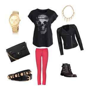 Outfit Rockig♥ von Anjuscha Küchler