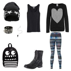Outfit CrazyStylishStreetwear von Vikiii