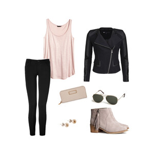 Outfit rose&black  von Ally