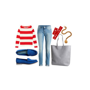 Outfit striped von neles