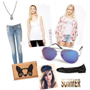 Outfit Sommer,Sonne,Shoppen  von Jeanine
