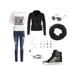 Outfit BLACK & WHITE von Kim Tamara