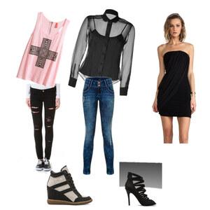 Outfit von Schul bis zur Party von semaus12
