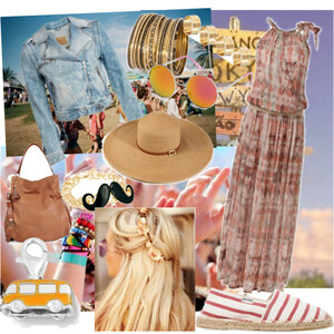 Outfit hippie von franziskaalschweig