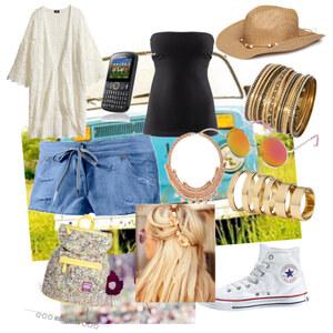 Outfit summertime von franziskaalschweig