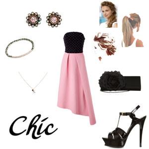 Outfit chic von Jasemin
