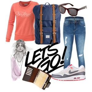 Outfit Schooldayone von merle-brakel