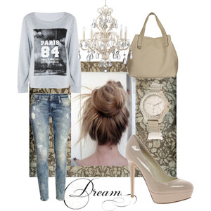 Outfit Denim loves Beige Chic von MEW