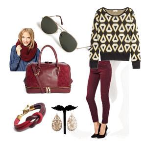 Outfit rednred von magdalena