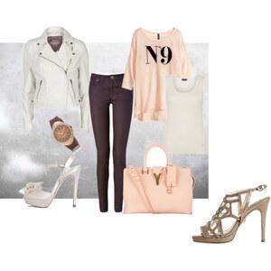 Outfit apropos apricot von Sarah Inviolable