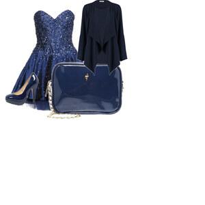 Outfit blauer abendloock von sera.mosch