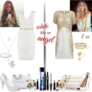 Outfit white like an angel von Natalie