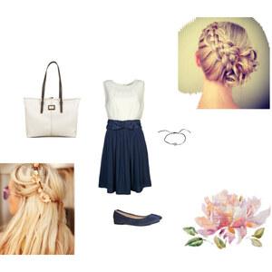 Outfit Blau&Weiß von HD
