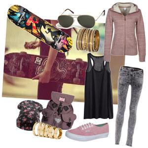 Outfit Skate Outfit von franziskaalschweig