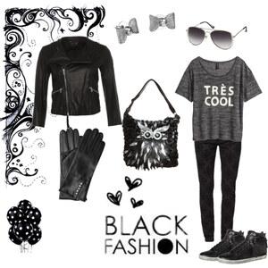 Outfit Black Fashion von Gabrijela Pilski