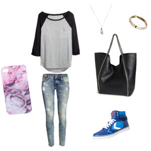 Outfit A school day  von Chrissy Epp