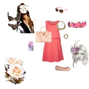 Outfit Flower von HD