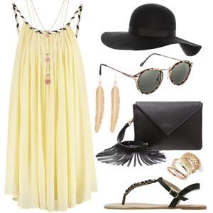 Outfit Hippie Chic von Mandy Schaefer